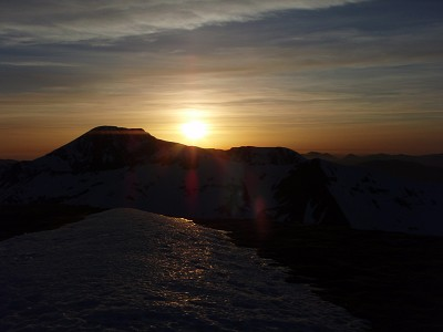 Sunset over Ben Nevis-Scotland
