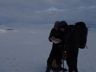 Winter skills - navigation