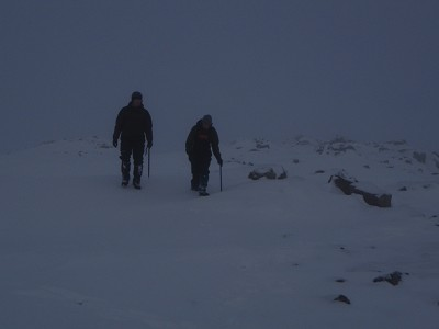 Winter skills - walking